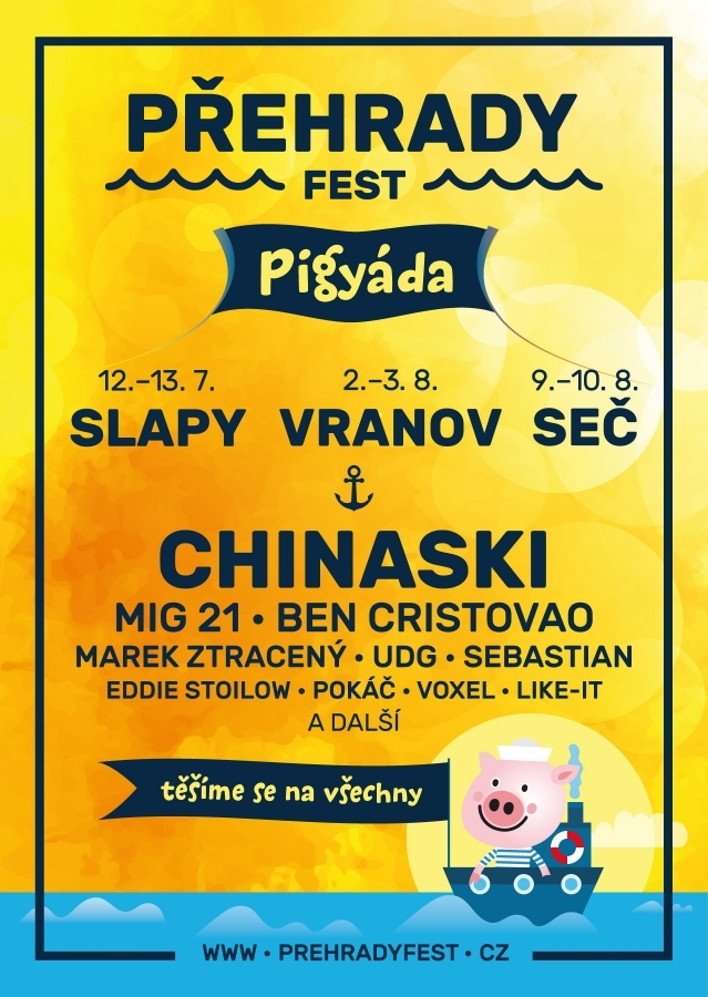 Rozhovor s organizátorem festivalu Přehrady fest Jaroslavem Šafarikem