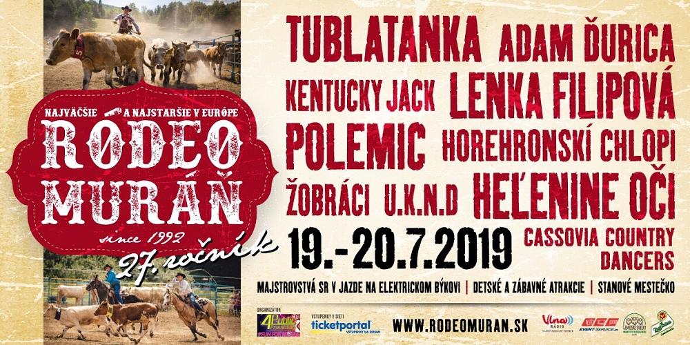 Milovníci divokého západu se setkají na Rodeu Muráň 19. až 20. července