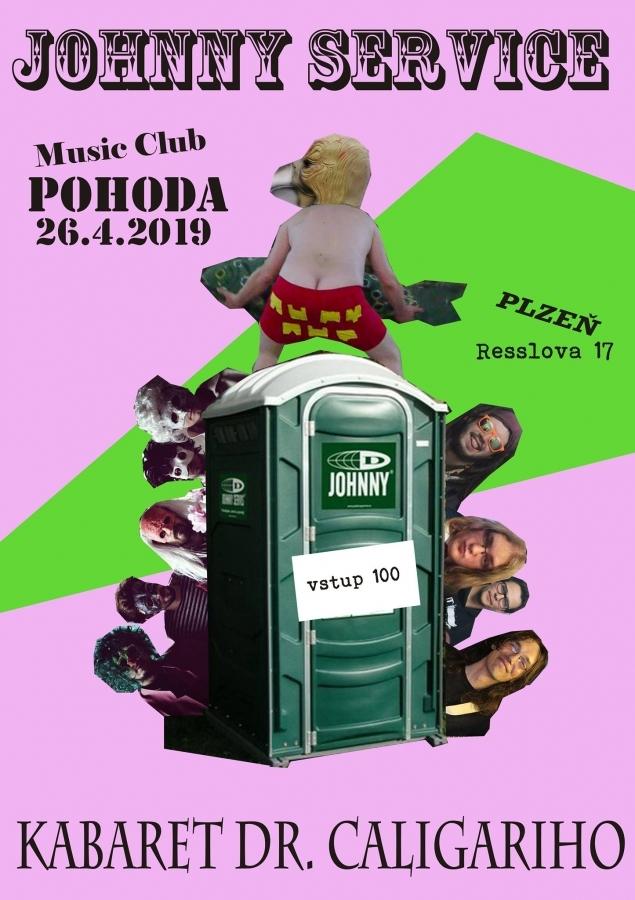 O nevšední zážitky se podělí Kabaret na Hajzlu v Pohoda Music Clubu Plzeň