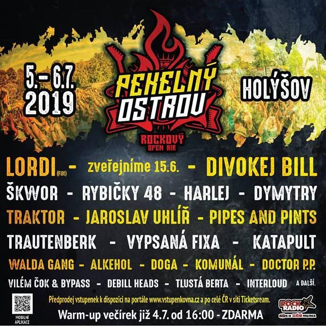 Pekelný ostrov 2019 hlásí brzké vyprodání! Hlavní hvězdou letošního ročníku jsou legendární finští hard rockoví Lordi!