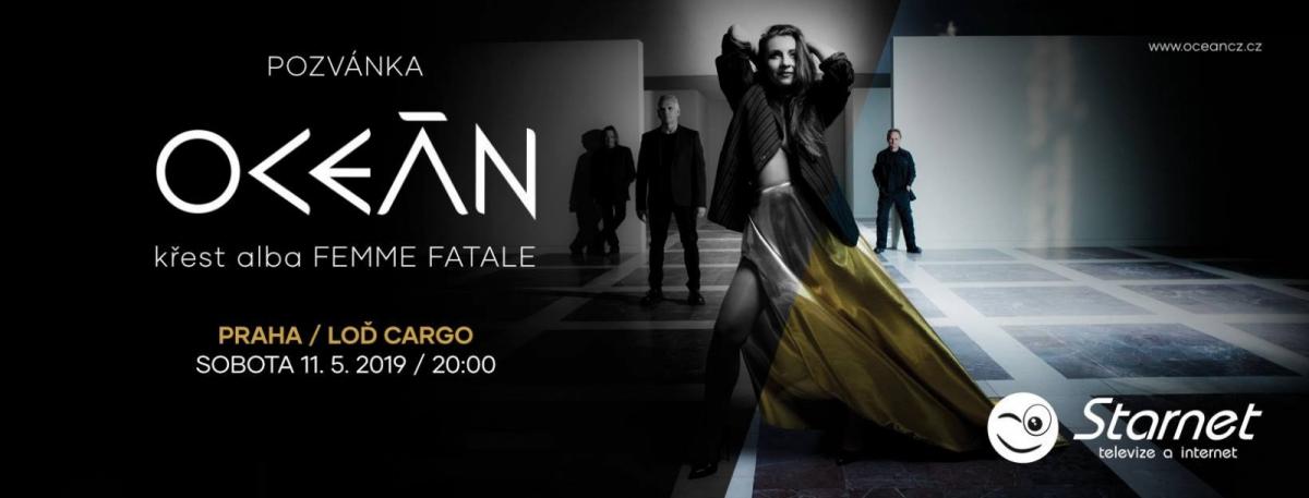Oceán vydala koncem roku 2018 u Warner Music Czech Republic nové studiové album FEMME FATALE