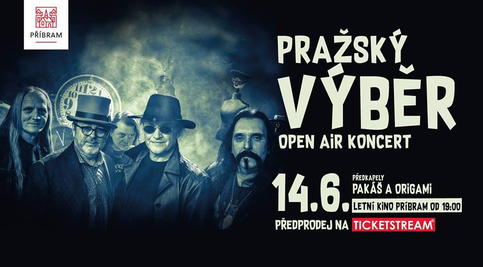Pražský výběr do příbramskeho  letního kina přiveze spostu hitů