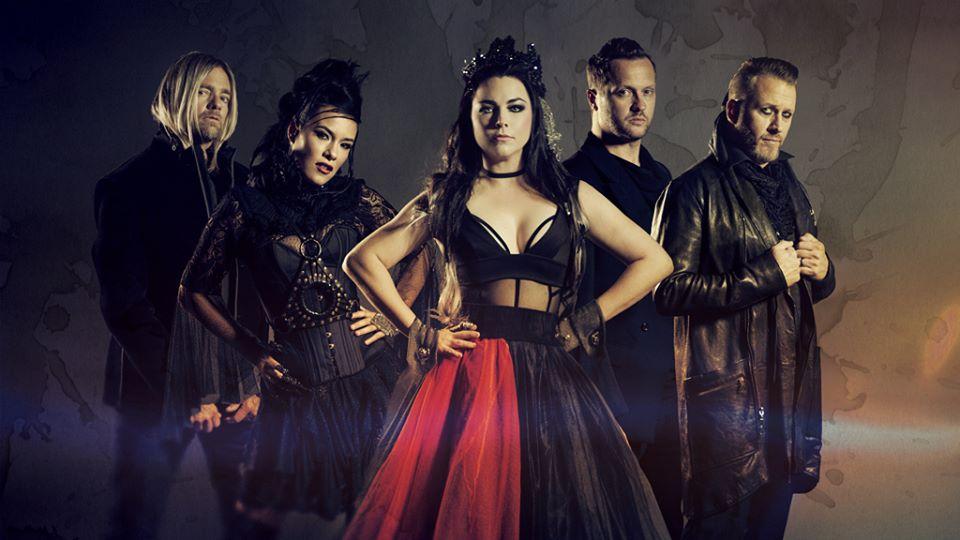 Evanescence v čele s uhrančivou frontwoman Amy Lee se po roce opět vrací do Čech, ovládnou Plzeň i Brno!