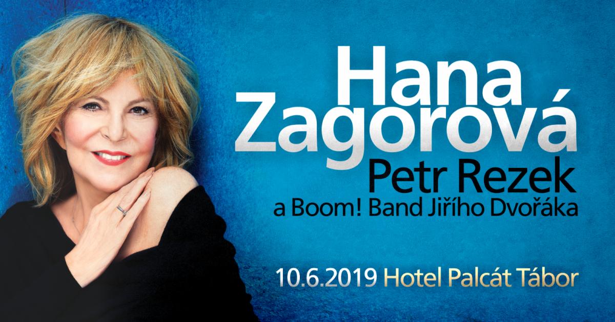 Hana Zagorová vystoupí společně s hostem Petrem Rezkem v táborském Palcátě