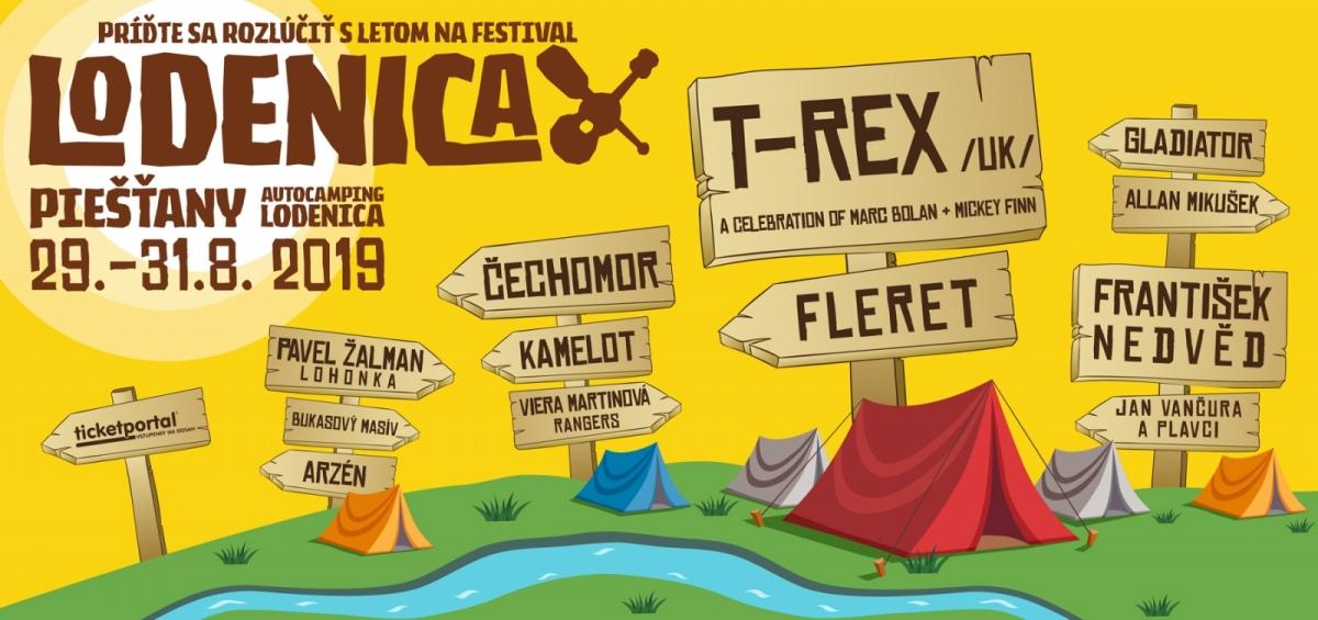 Na Lodenici vystoupí britská legenda T – Rex, festival zveřejňuje kompletní line-up