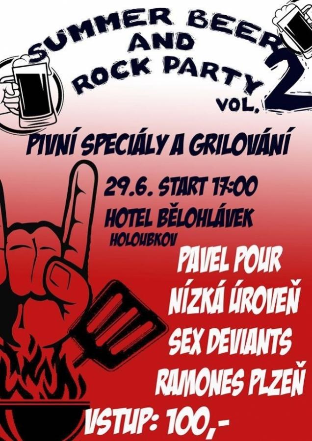 Holoubkovská Summer Beer and Rock Party vol. 2 nebude jen o muzice