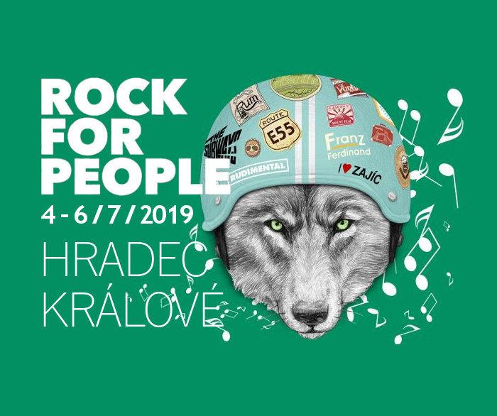Za týden startuje Rock for People!