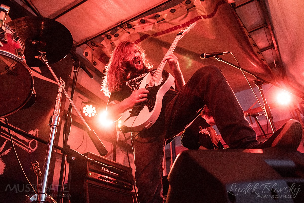 Na 2. ročníku Cider Punk Festu zahrál německý Stagewar