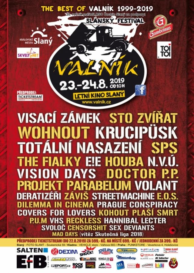 Slánský festival VALNÍK slaví 20 let