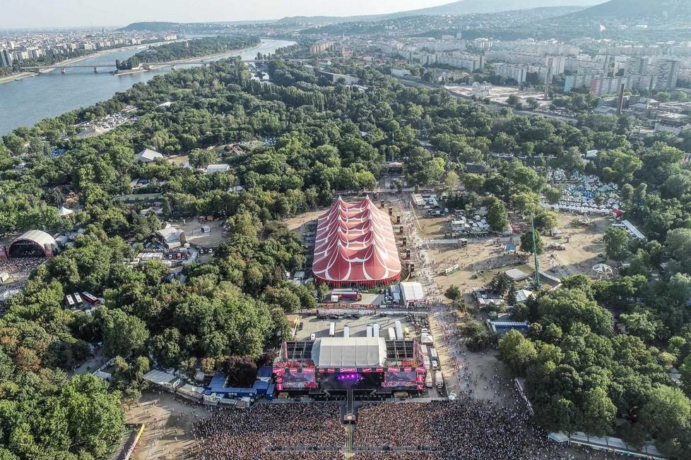 Začíná Sziget, největší festival léta.