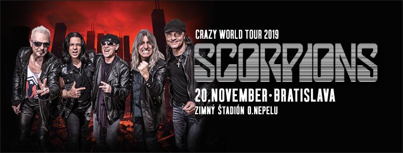 Rockeri sa majú na čo tešiť. SCORPIONS ohlásili záujem o stretnutie so slovenskými fanúšikmi.