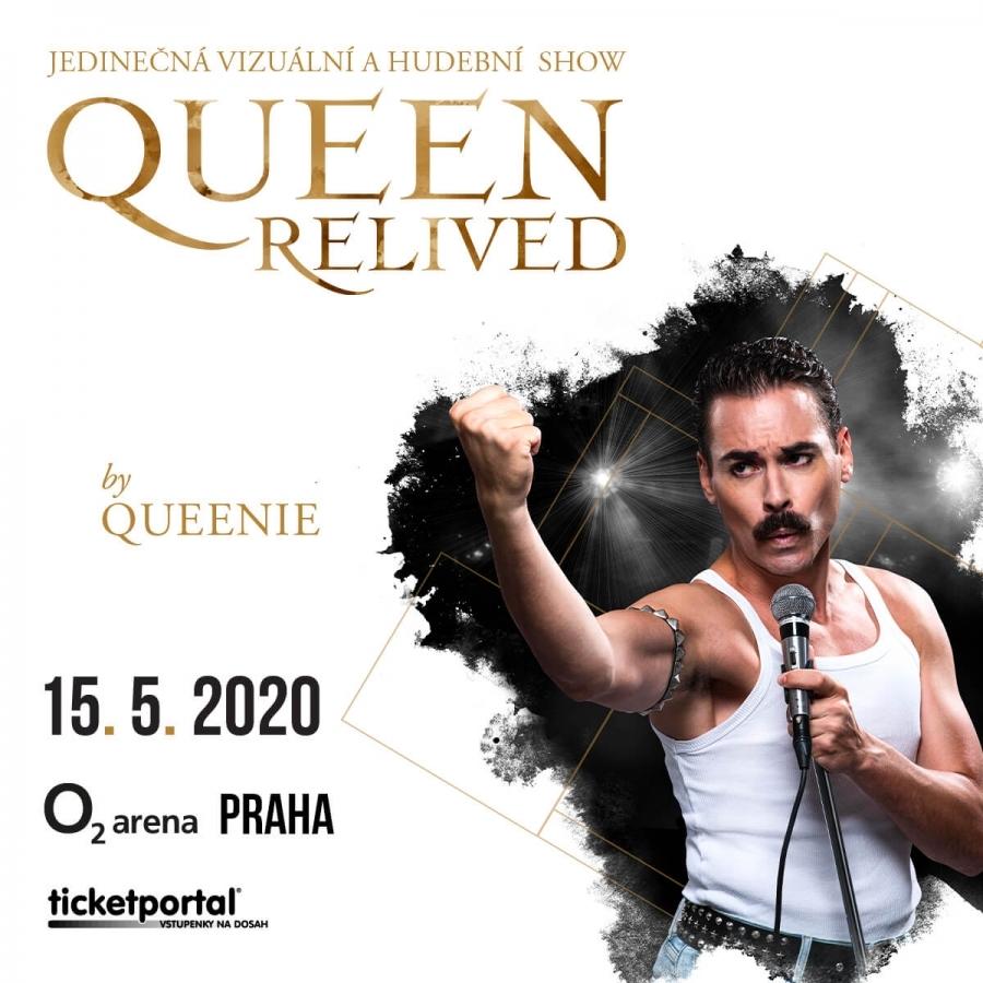 Koncertem Queen Relived ožije v O2 areně Freddie Mercury. Skupina Queenie připravuje velkolepou show