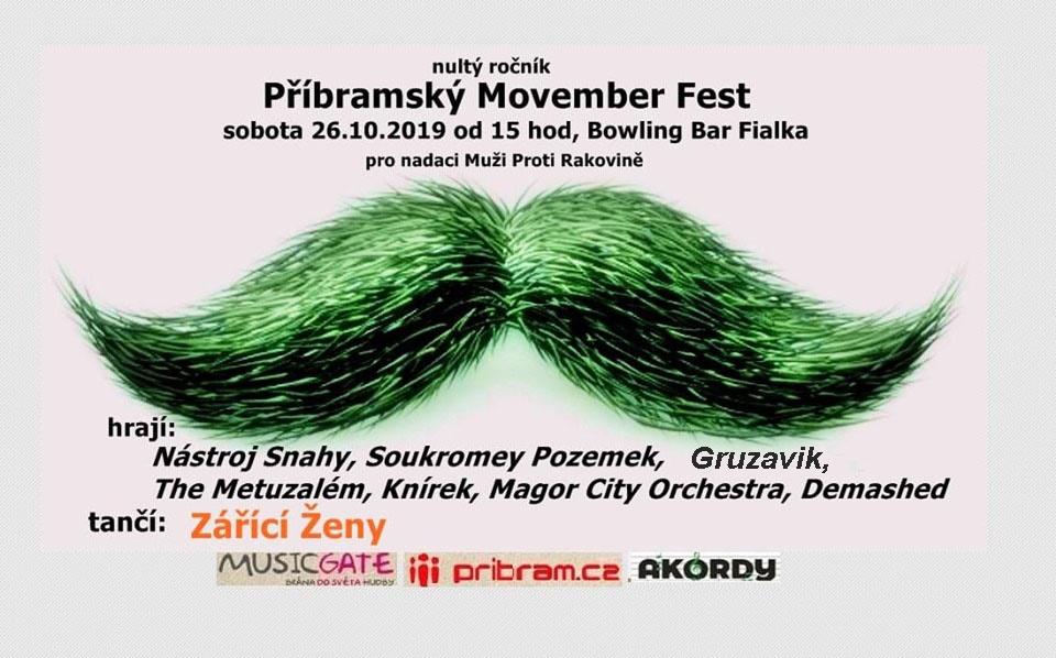 Příbramský Movember Fest