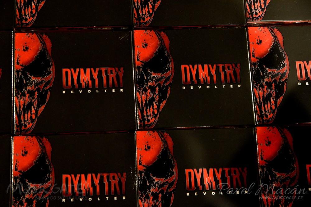 Dymytry poodkryli desku REVOLTER - hudební bombu, která vás zasáhne!