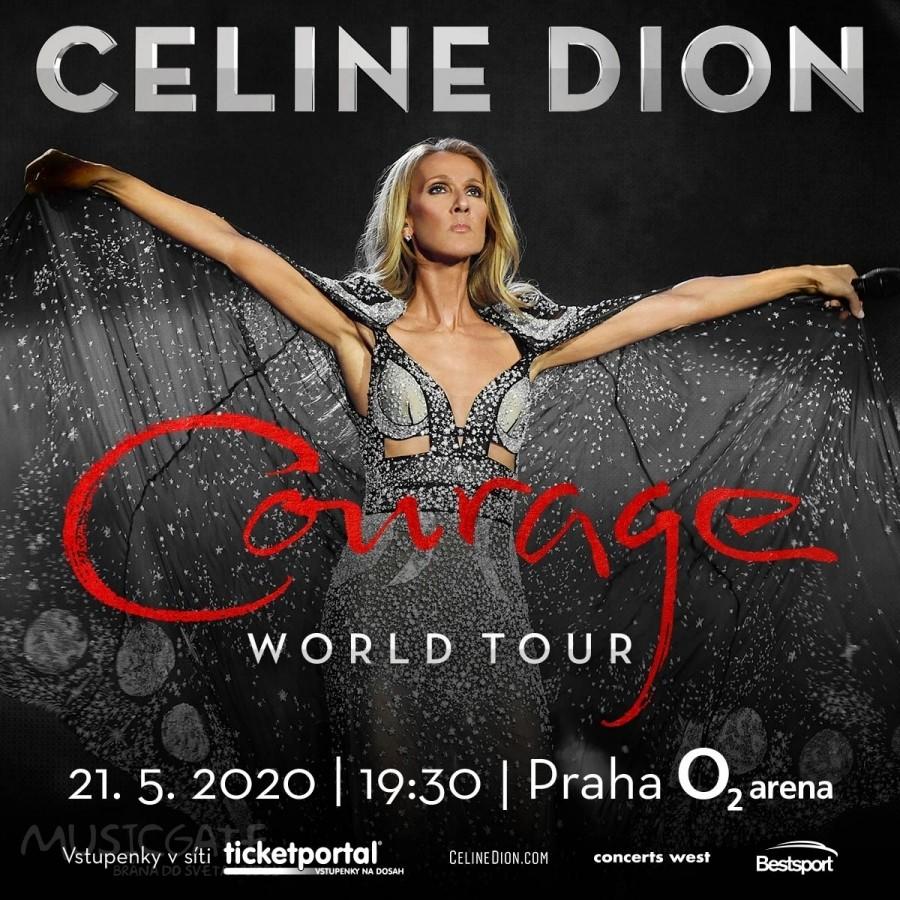 Céline Dion se po dlouhých 12 letech vrací do pražské O2 areny. V Praze zahájí evropskou část světového turné