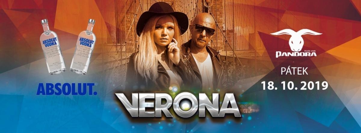 Soutěž o VIP vstup do music club Pandora v Příbrami na skupinu Verona