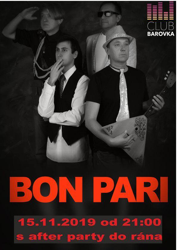Bon Pari v klubu Barovka