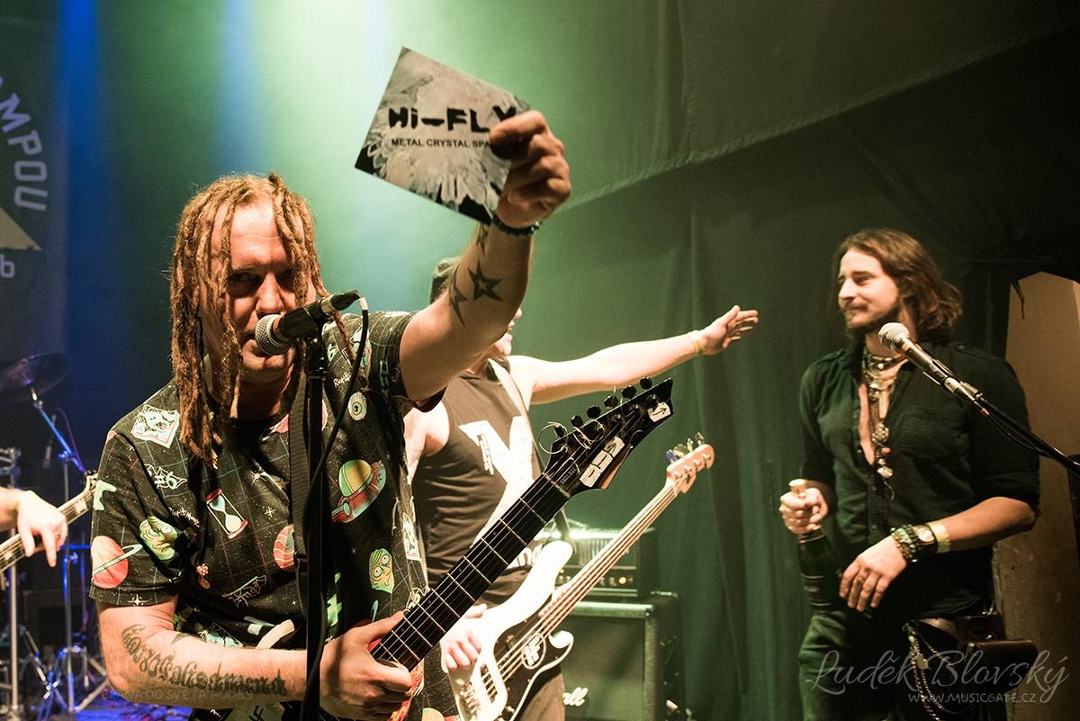 Kapela Hi-Fly pokřtila CD Metal Crystal Space