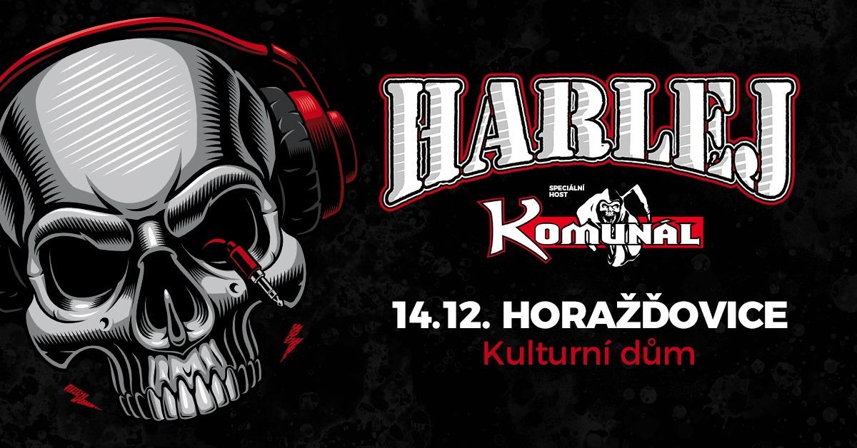 Podzimní tour zavede kapelu Harlej na horažďovické pódium
