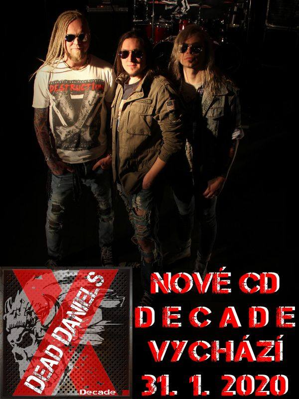 Dead Daniels vydávají druhé album!