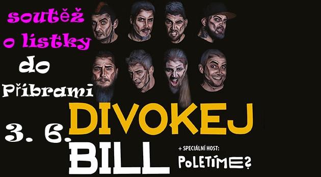 Soutěž o lístky na Divokýho Billa v Příbrami