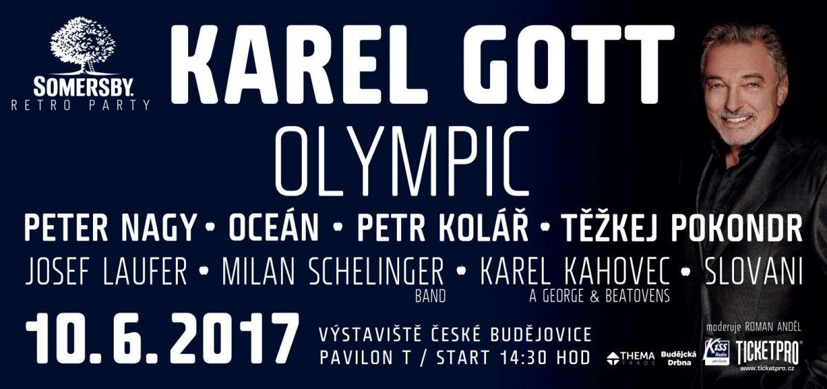 Somersby Retro Party se blíží, láká na Karla Gotta a Olympic