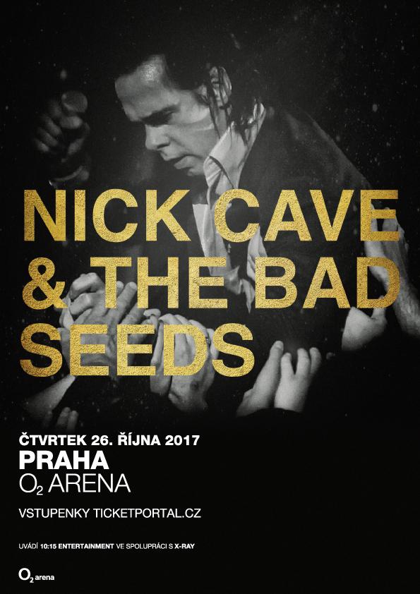 NICK CAVE & THE BAD SEEDS v Praze 26. října v O2 areně odehrají svůj doposud největší samostatný koncert