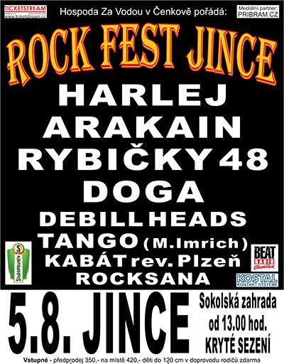 Rock fest v Jincích? Jasně!