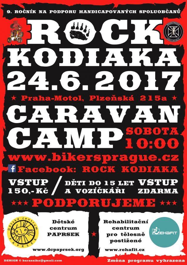 Rock kodiaka - festival , který pomáhá