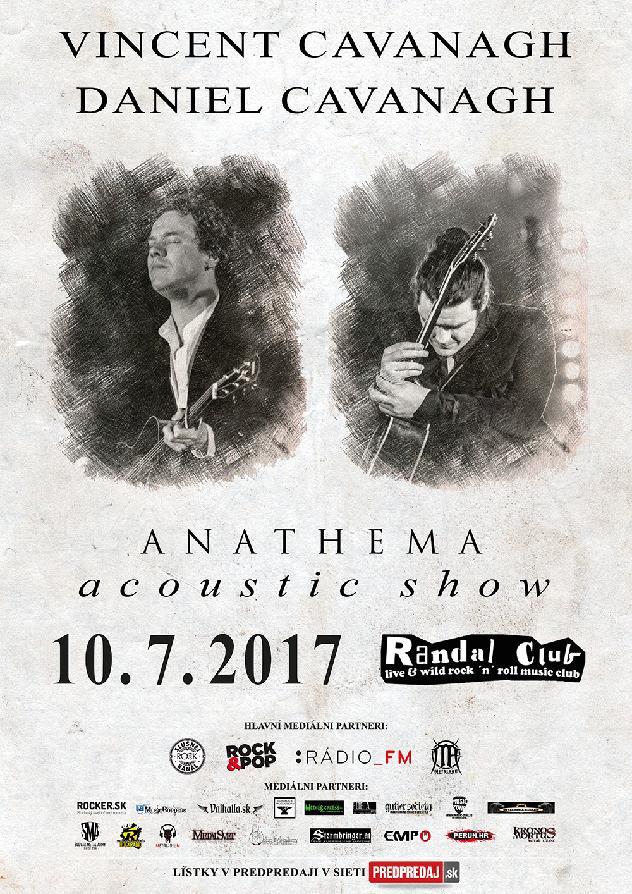 Vincent a Daniel Cavanagh z legendární britské kapely ANATHEMA jsou zpět