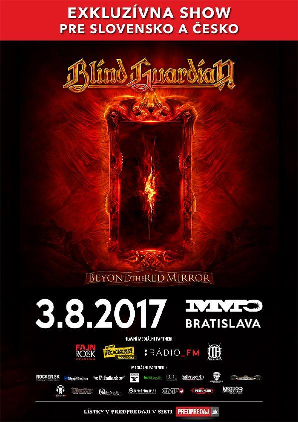 Metalová kapela Blind Guardian opět zamířila na Slovensko