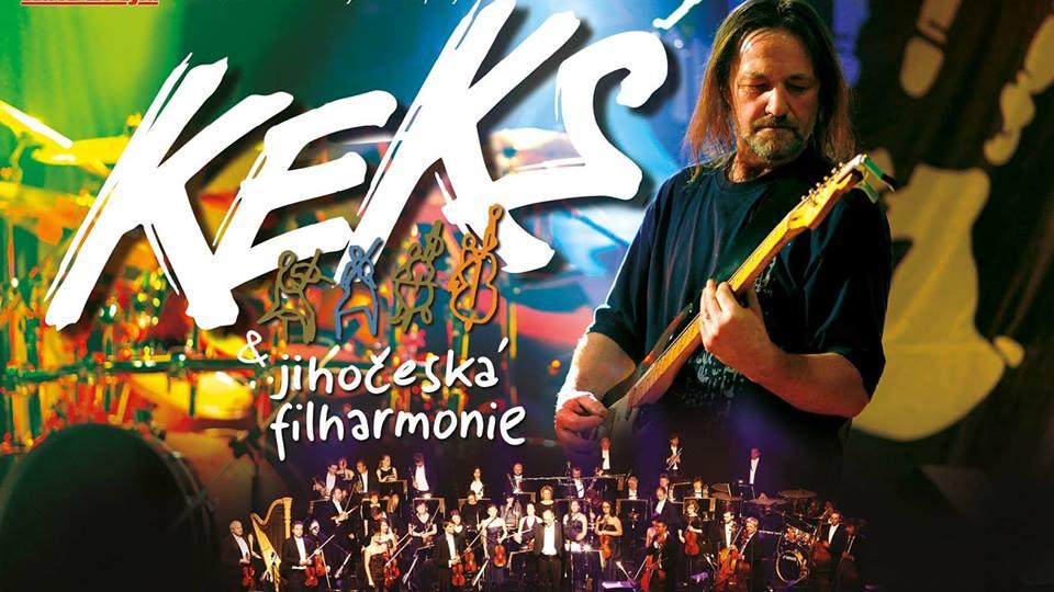 Keks s Jihočeskou filharmonií v Třeboni