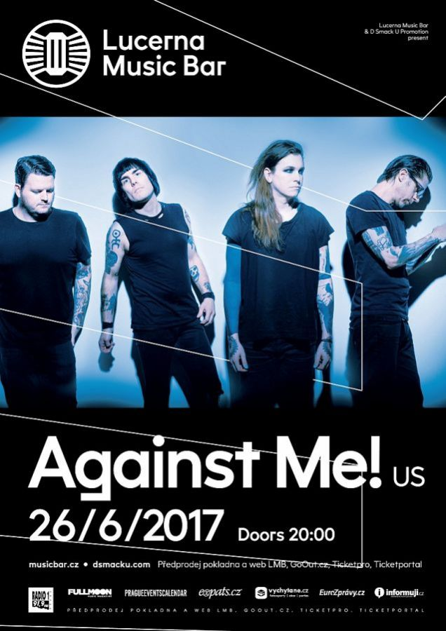 Against Me! předskočí Tim Vantol a Burning Steps!