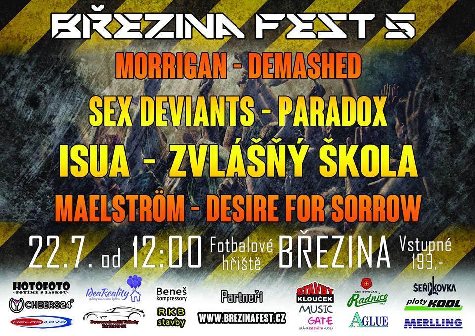 Již pátý ročník Březina festu, přijď také!