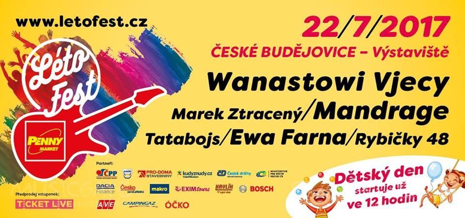 Létofest dorazí do Českých Budějovic