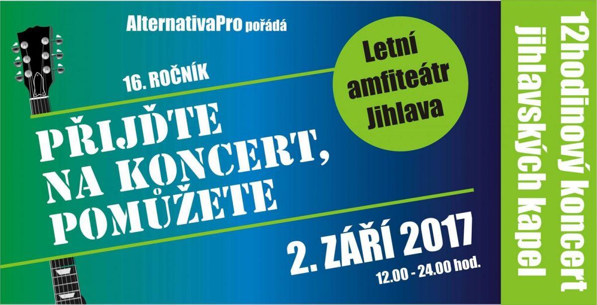 Přijďte na koncert, pomůžete 2017