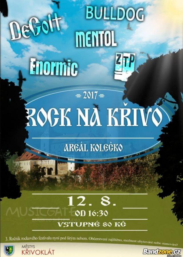 Hudební festival Rock na Křivo 2017 v Křivoklátě
