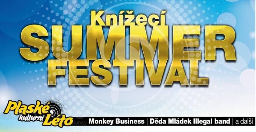 Knížecí summer fest 2017 ve městě Plasy