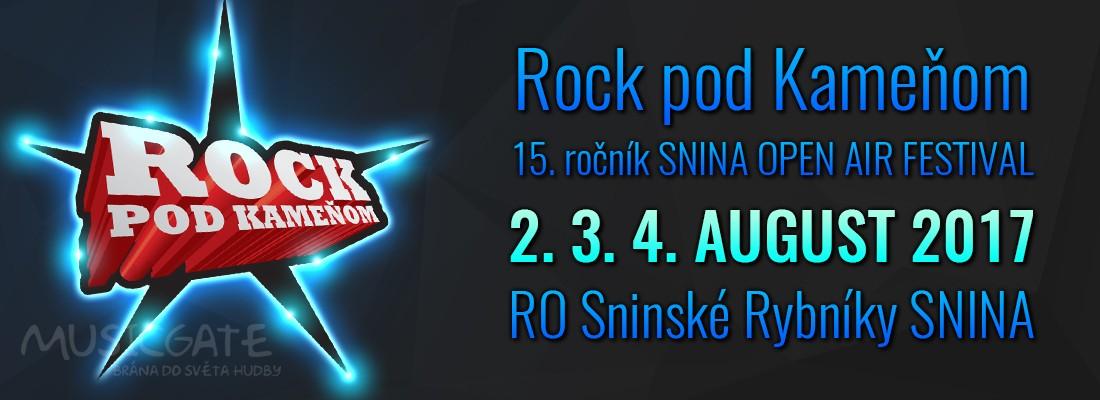 Rock pod kameňom
