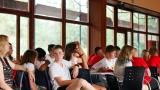 Předávání Youthpassu (certifikát o absolvování projektu - může se přidat k přihláškám na SŠ a VŠ, ale i k životopisu, kdy slouží jako podpůrný prostředek) (72 / 134)
