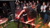 Kapela Seven - hraní na vrtačku patří k vrcholům koncertu (70 / 73)