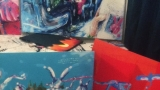Vernisáž Honzy Homoly z kapely Wohnout (2 / 10)