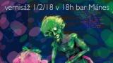 Vernisáž Honzy Homoly z kapely Wohnout (5 / 10)