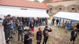 Na 2. ročníku Cider Punk Festu zahrál německý Stagewar (75 / 137)