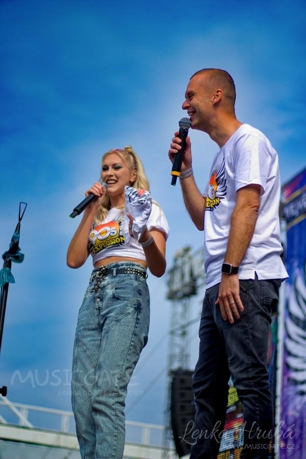 Moderátoři festivalu Zorka Hejdová a Pavel Cejnar