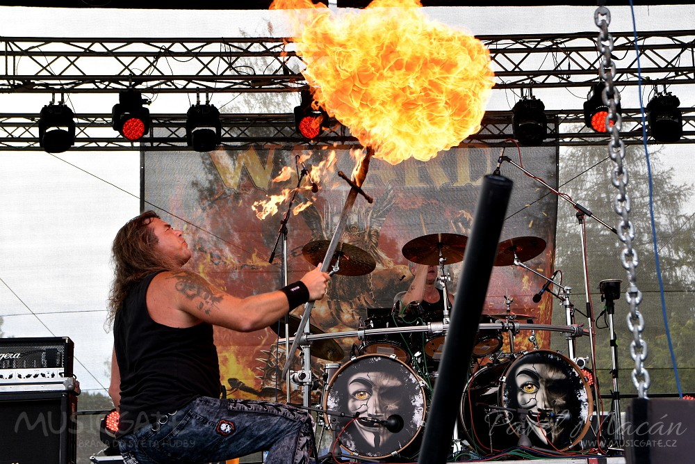 Svým žhavým power metalem očarovali publikum …