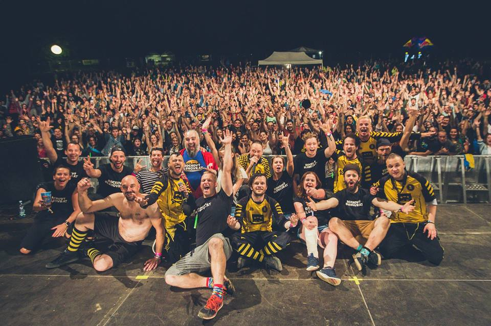 Hudební festival Rockový Slunovrat …