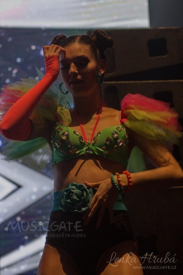 tanečnice z Dance Clubu
