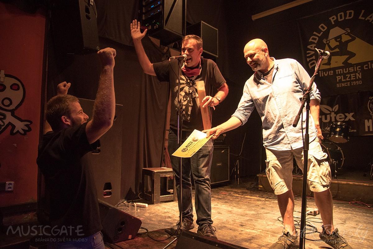 Kapela The OverBastarding jako vítěz u odborné poroty i v diváckém hlasování