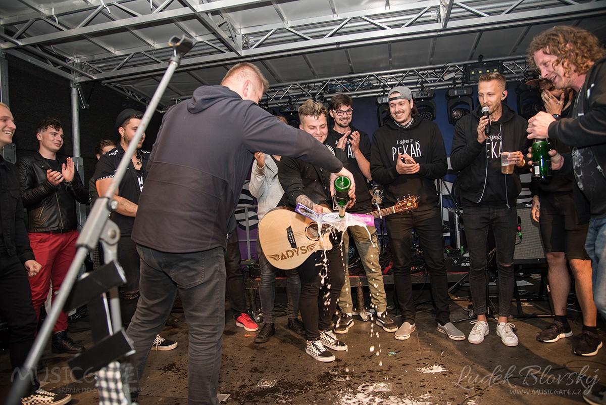 Kapela Adys - křest singlu v Janovicích nad Úhlavou
